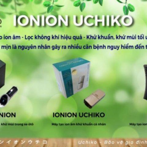 Máy tạo ion âm Ionion Uchiko – Made in Japan