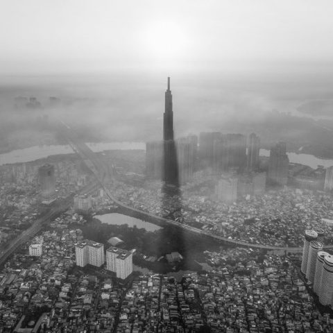 Bụi mịn PM2.5 và PM1.0 trong không khí ô nhiễm
